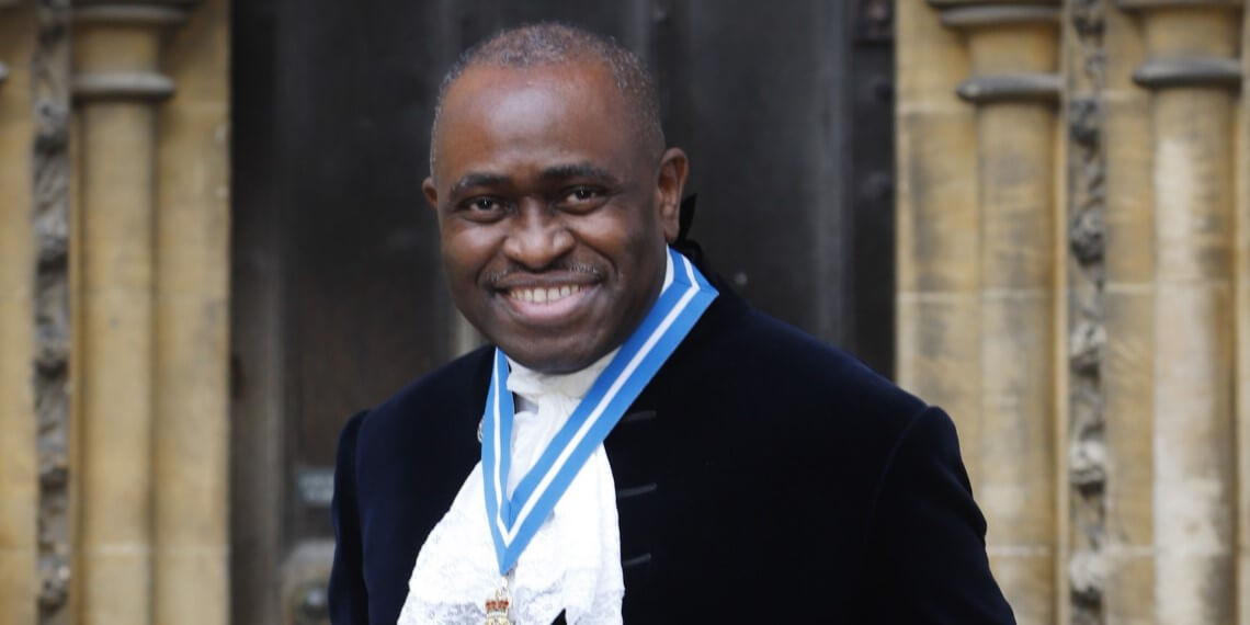 The High Sheriff of Hertfordshire, Lionel Wallace DL